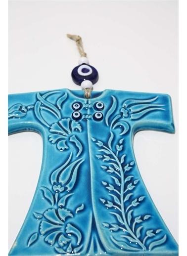 Raven Home Studio Rhs Dekoratif Kaftan Duvar Dekortif Ürünleri Mavi Büyük Boy Mavi